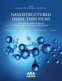 Nanostructured Oxide Thin Films Synthesized By Spray Pyrolysis