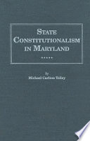 State Constitutionalism In Maryland