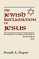 Pdf The Jewish Reclamation of Jesus