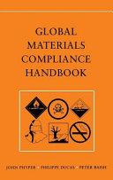 Global Materials Compliance Handbook Book PDF