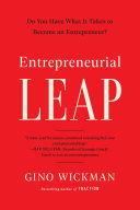 Entrepreneurial Leap Pdf/ePub eBook