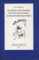 Geschichte und Aktualität der Daoismusrezeption im deutschsprachigen Raum