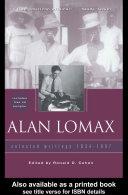 Alan Lomax Pdf/ePub eBook