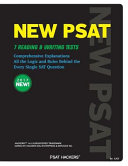 Hackers New Psat 7 Reading   Writing Tests Book