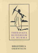 An Introduction To The Study Of Theravada Buddhism In Burma