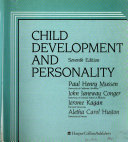 Child Development and Personality Book