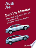 Audi A4 (B5) Service Manual