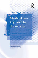 Pdf A Natural Law Approach to Normativity Telecharger