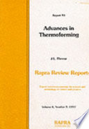 Advances in Thermoforming