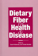 Dietary Fiber in Health & Disease