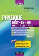 Physique tout-en-un MPSI-PCSI-PTSI - 3ème édition