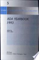 ADA Yearbook 1993