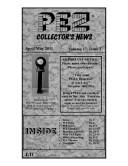 PEZ Collectors News April/May 2011