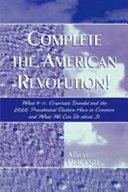 Complete the American Revolution