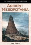 Pdf Ancient Mesopotamia