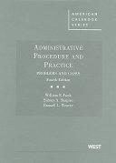 Administrative Procedure And Practice