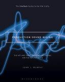 Production Sound Mixing Pdf/ePub eBook