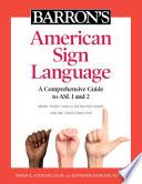 Barron's American Sign Language