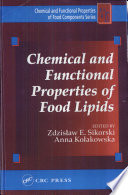 Chemical And Functional Properties Of Food Lipids Book PDF