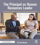 The Principal as Human Resources Leader Pdf/ePub eBook
