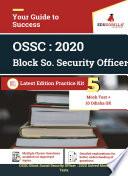 OSSC Block Social Security Officer : 2020 | 5 Mock Tests + Odisha GK