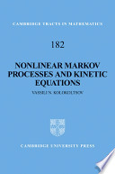 Nonlinear Markov Processes and Kinetic Equations