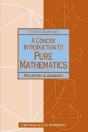 Pdf A Concise Introduction to Pure Mathematics, Third Edition