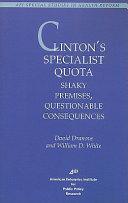 Clinton s Specialist Quota