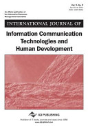 International Journal of Information Communication Technologies and Human Development  Vol 3 ISS 2