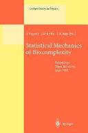 Statistical Mechanics of Biocomplexity