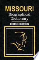 Missouri Biographical Dictionary