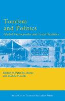 Pdf Tourism and Politics Telecharger