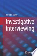 Investigative Interviewing Book