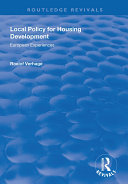 Local Policy for Housing Development