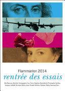 Catalogue Flammarion 2014 : rentrée des essais