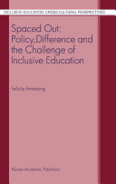 Pdf Spaced Out: Policy, Difference and the Challenge of Inclusive Education Telecharger