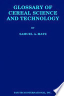 Glossary of Cereal Science and Technology