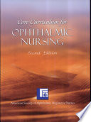 Core Curriculum For Ophthalmic Nursing Book PDF
