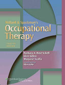 Model of Human Occupation   Willard and Spackman Occupational Therapy