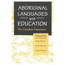 Aboriginal Languages And Education
