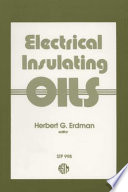 Electrical Insulating Oils Book PDF