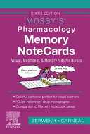 Mosby s Pharmacology Memory NoteCards