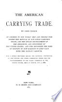 The American Carrying Trade