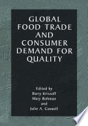 Global Food Trade and Consumer Demand for Quality Book