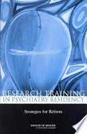 Research Training in Psychiatry Residency