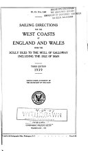 Sailing Directions for the West Coasts of England and Wales from the Scilly Isles to the Mull of Galloway