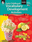 Early Childhood Vocabulary Development Activities