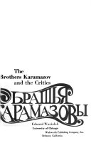 The Brothers Karamazov and the Critics