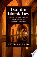 Doubt in Islamic Law