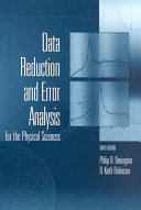 Data Reduction and Error Analysis for the Physical Sciences Book